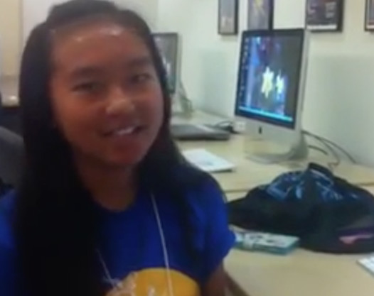 Video: 2015 SPARCS@Mac camper demos app-building skills she learned