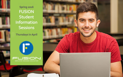 I.T. Students: Learn more about FUSION Paid IT Residencies at student info sessions in April 2016
