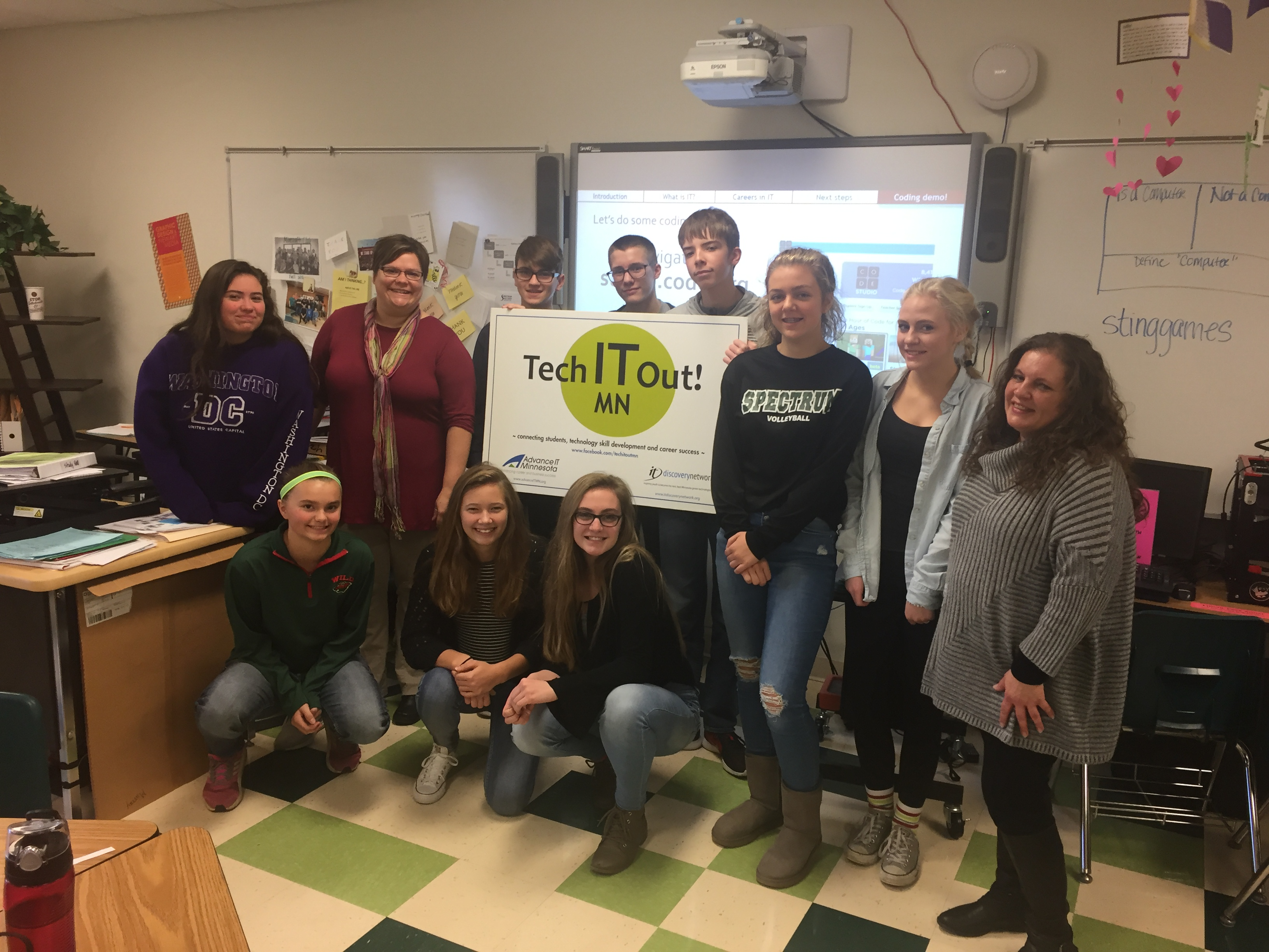 Tech it Out! MN — Demystifying the Field of Information Technology
