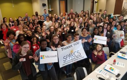 Microsoft Introduces SPARCS Students to New Innovation Center