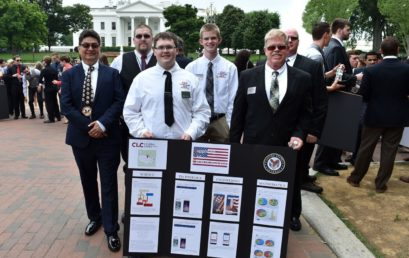 CLC Students Present SOS app for Veterans at White House