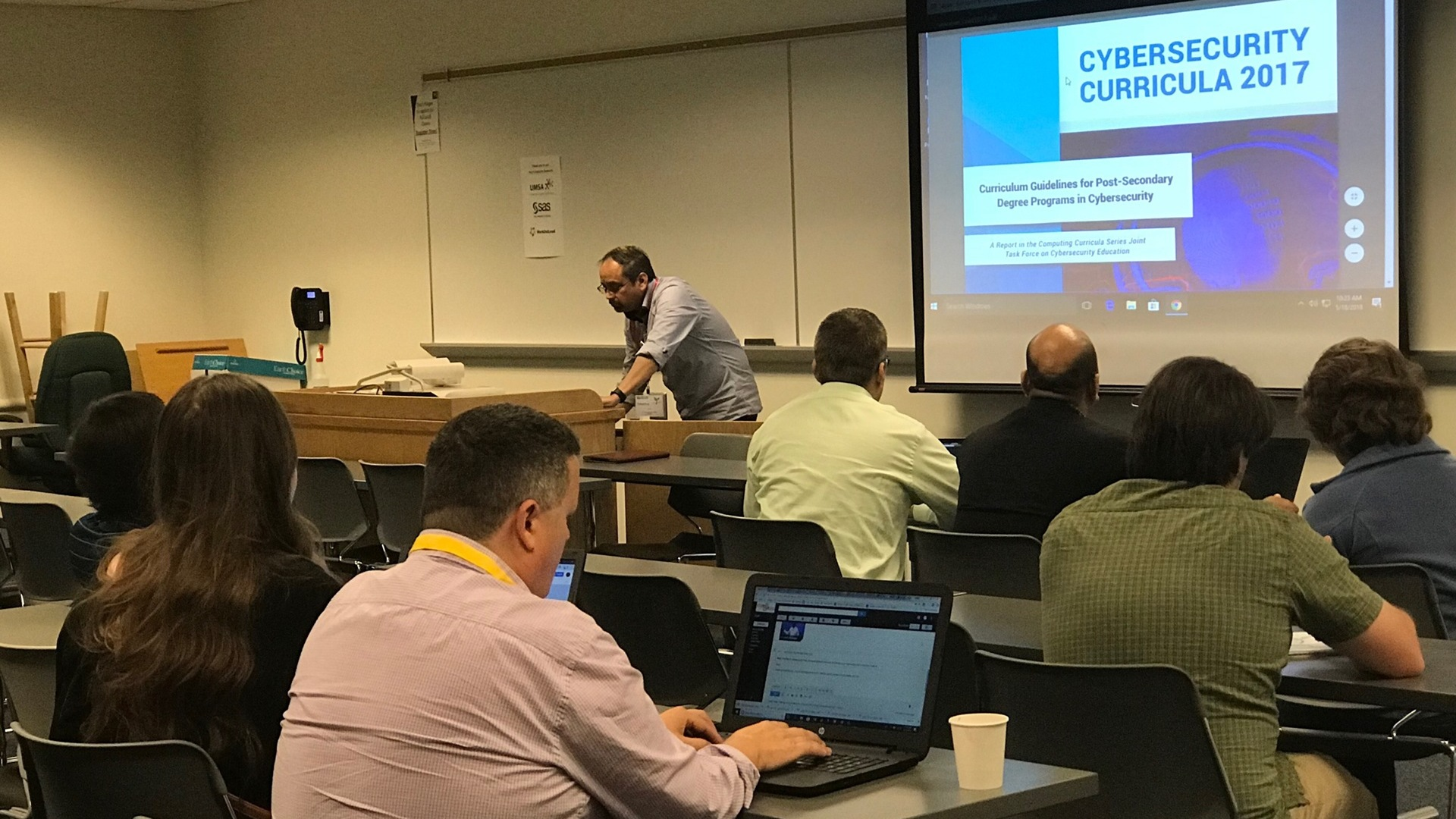 2018 Cyber & Data Curriculum Development Project Update