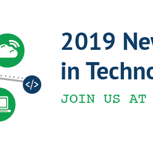 2019 New Directions in Technology: Join Us at the Table