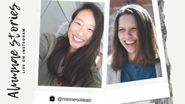 Highlights from the Premiere of 'MNAiC Alumnae Stories' with Host Katherine Myers and Featured Guest Fiona Chow