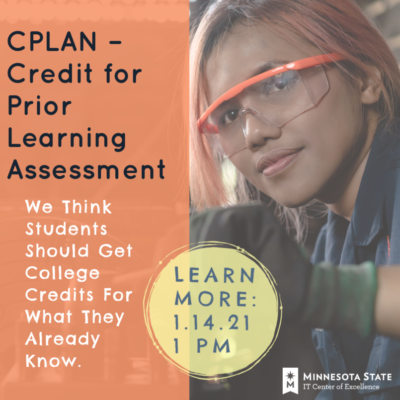 """Learn More About CPLAN – """"Credit for Prior Learning Assessment Network"""" – Academic Webinar Video"""