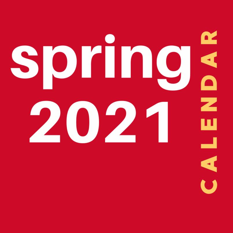 Spring 2021 Printable Event Calendar
