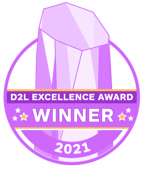 MN State I.T. CoE Wins 2021 D2L Excellence Award